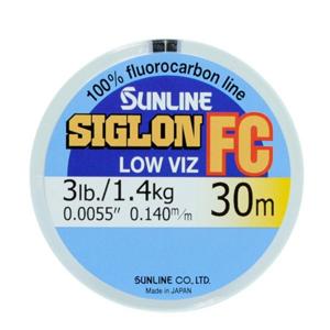 Vlasec Sunline Fluocarbon Siglon FC 30m 0,310mm/6,10kg