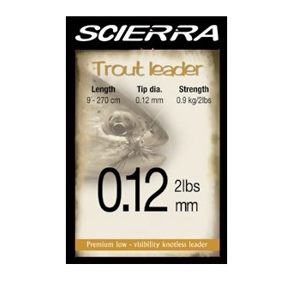 Vlasec Scierra The Trout Leader 9ft 2,7m Pstruhový 0,12mm/2lb