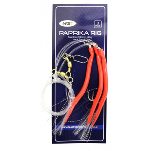 3ks - Návazec NGT Paprika Rig 4/0