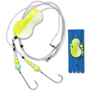 Návazec Zebco Flatty Teaser Inline Rig Yellow/Glow 30gr