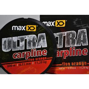 Vlasec Maxxo Ultra Carpline 600m Fluoro Oranžový 0,30mm/8,70kg