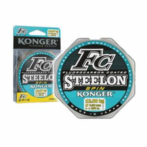 Vlasec Konger Steelon FC Spin 150m 0,25mm/8,40kg