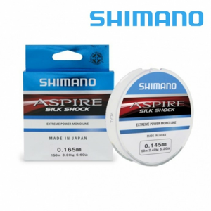 Vlasec Shimano Aspire Silk Shock 150m 0,25mm/7,0kg
