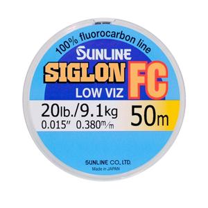 Vlasec Sunline Fluocarbon Siglon FC 50m 0,445mm/12kg