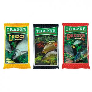 Krmítková Směs Traper Groundbait Secret 1kg Feeder Black