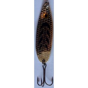 Třpytka Plandavka Zico Bloody Fish 50mm 8gr Zlatá
