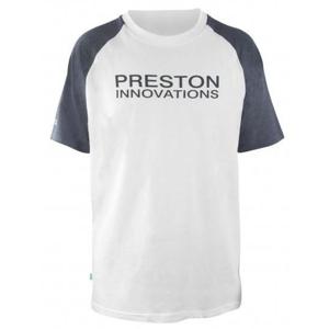 Tričko Preston White T-Shirt Velikost XXL