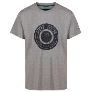 Tričko Greys Heritage T-Shirt Grey Velikost XXL