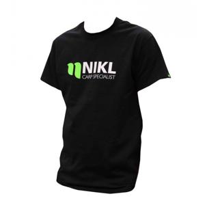 Tričko Nikl Carp Specialist Černé Velikost XXL