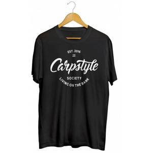 Tričko Carpstyle T-Shirt 2018 Black Velikost M