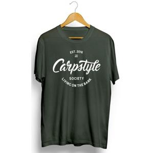 Tričko Carpstyle T-Shirt 2018 Green Velikost M