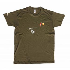 Tričko Carp´R´Us Mouthsnagger Army Velikost L