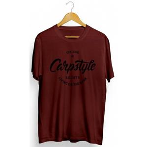 Tričko Carpstyle T-Shirt 2018 Burgundy Velikost S