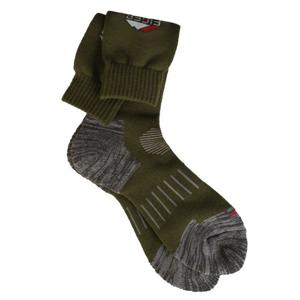 Ponožky Eiger ProFit Sock Olive Green Velikost 44/47