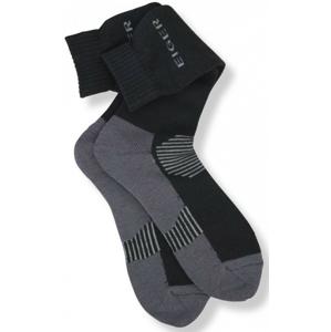 Ponožky Eiger Alpina Sock Black/Grey Velikost 44/47