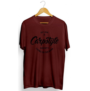 Tričko Carpstyle T-Shirt 2018 Burgundy Velikost XL