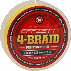 Pletená Šňůra Effzett 4-Braid 250m 0,30mm/22,7kg