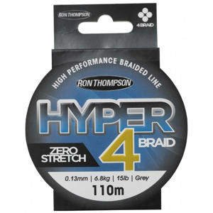 Pletená šňůra Ron Thompson Hyper 4-Braid 0,15mm 18lb/8,1kg