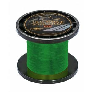 Pletená Šňůra Mikado Carp Octa Braid Zelená 900m 0,14mm/10,15kg