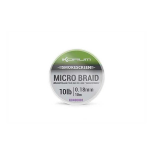 Návazcová Pletená Šňůra Korum Smokescreen Micro Braid 10m 10lb