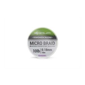Návazcová Pletená Šňůra Korum Smokescreen Micro Braid 10m 15lb