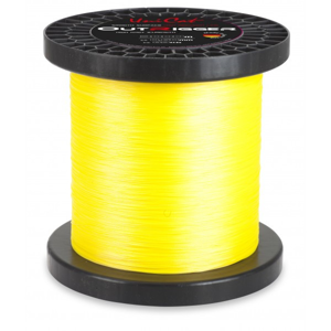 Pletená Šňůra Uni Cat Die Outrigger Line 3000m Žlutá 0,70mm/113kg