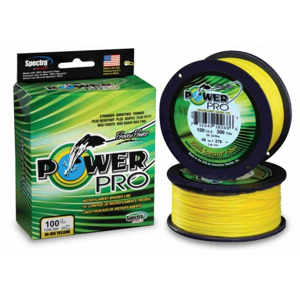 Pletená Šňůra PowerPro Žlutá 135m 0.10mm/5.00kg