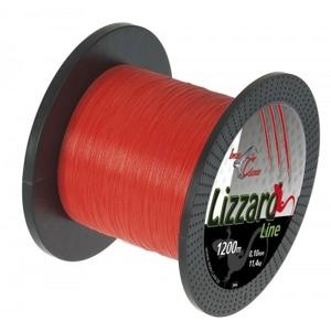 Pletená Šňůra Iron Claw Lizzard Oranžová 1200m 0,03mm/2,7kg