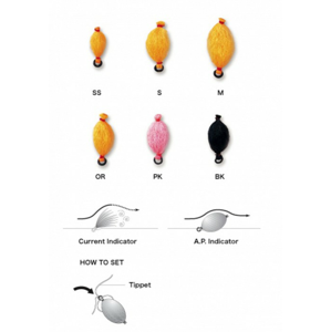 Sbirulino C&F Design A.P.Indicator Velikost S Oranžová