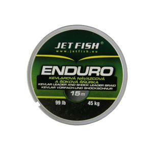 Kevlarová Návazcová Šoková Šňůra JetFish Enduro 15m 66lb