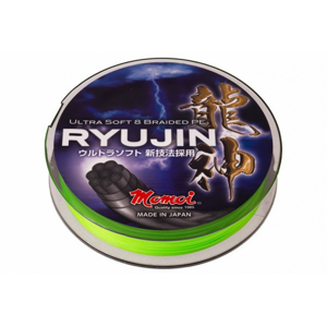 Pletená Šňůra Momoi RYUJIN Lime Green 150m 0,08mm/8kg