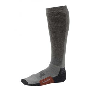 Podkolenky Simms Guide Midweight Sock Gunmetal Velikost L