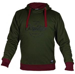 Mikina Carpstyle Green Forest Hoodie Velikost XL