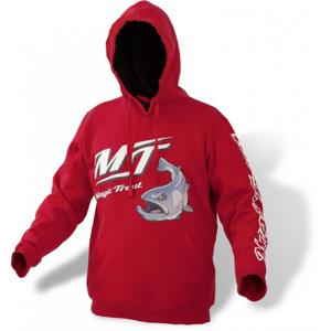 Mikina Magic Trout Hoody Červená Velikost XL