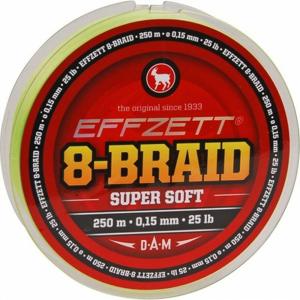 Pletená Šňůra Effzett 8-Braid 250m 0,13mm/9,1kg