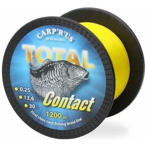 Pletená Šňůra Carp R Us Total Contact 0,25mm 13,61kg / 30lb 1200m