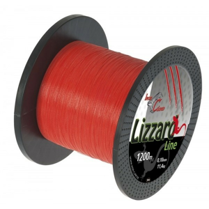 Pletená Šňůra Iron Claw Lizzard Oranžová 1200m 0,10mm/11,4kg