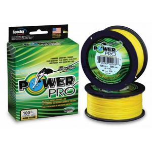 Pletená Šňůra PowerPro Žlutá 275m 0.19mm/13.00kg