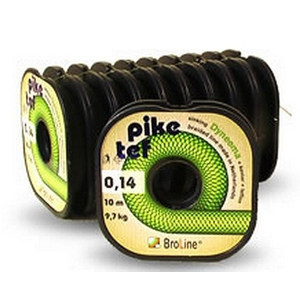 Pletená Šňůra BroLine Pike Tef 10m 0,14mm/9,7kg
