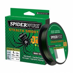 Pletená Šňůra Spiderwire Stealth Smooth12 Moss Green 150m 0,11mm/10,3kg