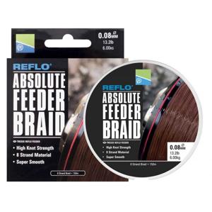 Pletená Šňůra Preston Absolute Feeder Braid 150m 0,10mm/7,2kg