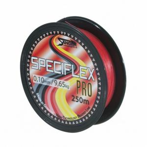 Pletená Šňůra Saenger Speciflex Pro Red 250m 0,10mm 9,65kg