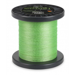 Pletená Šňůra Saenger Specialist Two Tone Světle Zelená 3000m 0,18mm