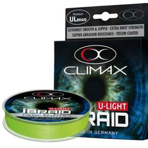 Pletená Šňůra Climax iBraid U-Light Neon Green 135m 0,08mm/6kg