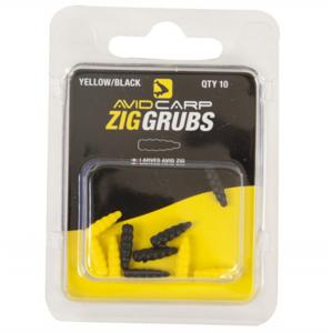 10ks - Rovnátko Avid Carp Zig Grubs