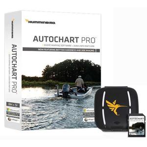 Mapovací Program Humminbird Autochart Pro PC Software