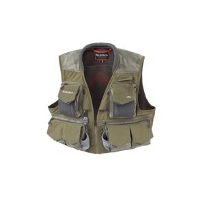 Muškařská Vesta Simms Guide Vest Hex Camo Loden Zelená Velikost L