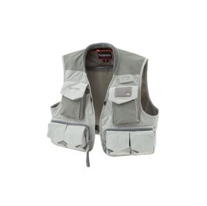 Muškařská Vesta Simms Freestone Vest Smoke Šedá Velikost XL