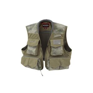 Muškařská Vesta Simms Freestone Vest Hex Camo Zelená Velikost XL