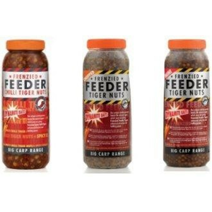 Partikl Dynamite Baits Frenzied Feeder Nakládaný Tygří Ořech 2,5l Chilli Tiger Nuts